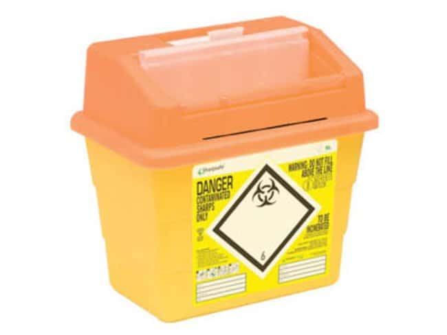 Sharpsafe™Impenetrable Polypropylene Disposal Containers: Home