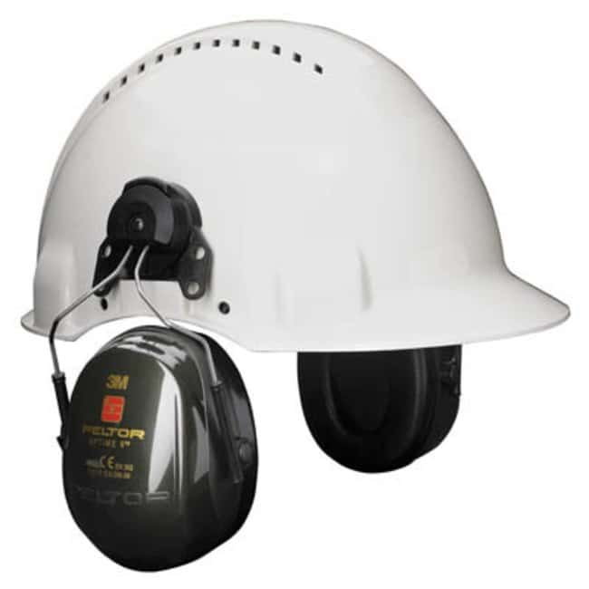 3M™PELTOR™ Optime™ II Helmet Mounted Ear Muffs Color: Black; Noise Reduction Rate: 30db 3M™PELTOR™ Optime™ II Helmet Mounted Ear Muffs