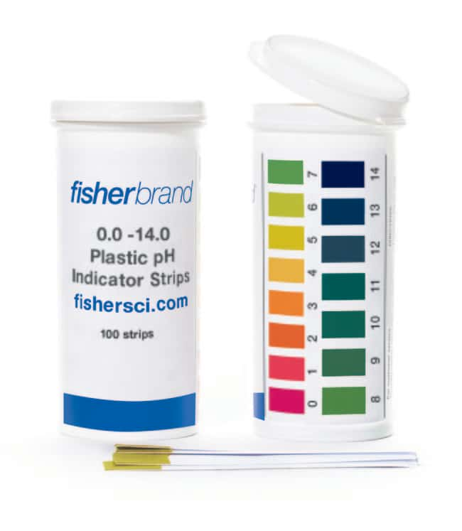 Fisherbrand™ Plastic pH Strips