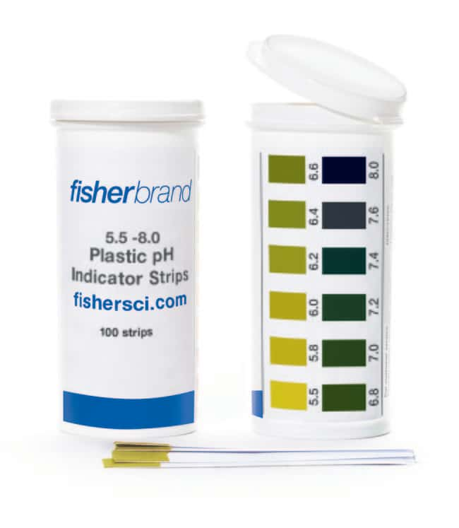 Fisherbrand™Plastic pH Strips
