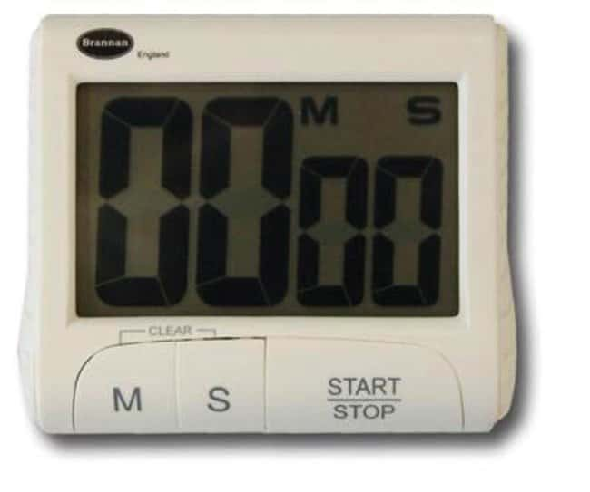 Brannan™ LCD Display Digital Countdown Timer Display Dimensions: 64 x 38mm; Weight: 78g Motion Timers