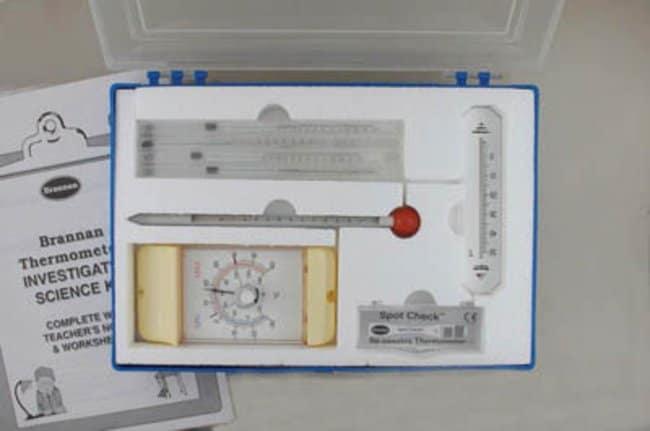 Brannan™Thermometer Science Kit Box dimensions: 334 x 232 x 50mm Classroom Meteorology