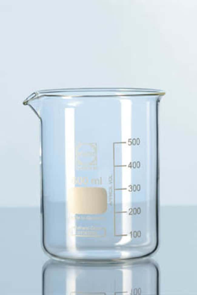 Duran™ Low Form Glass Beakers with Spout: Beakers | 50mL, 250mL, 500mL | Fisher Scientific Beakers, Bottles, Cylinders and Glassware