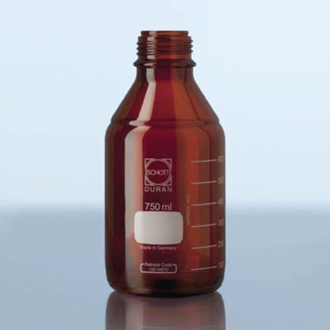 Duran™Frasco de laboratorio ámbar: Bottles Botellas, frascos y jarras