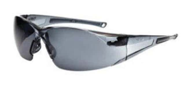 Bollé SafetyRush Smoke Safety Glasses Lens Coating: Anti-Fog & Anti-Scratch Coating General Purpose Safety Glasses