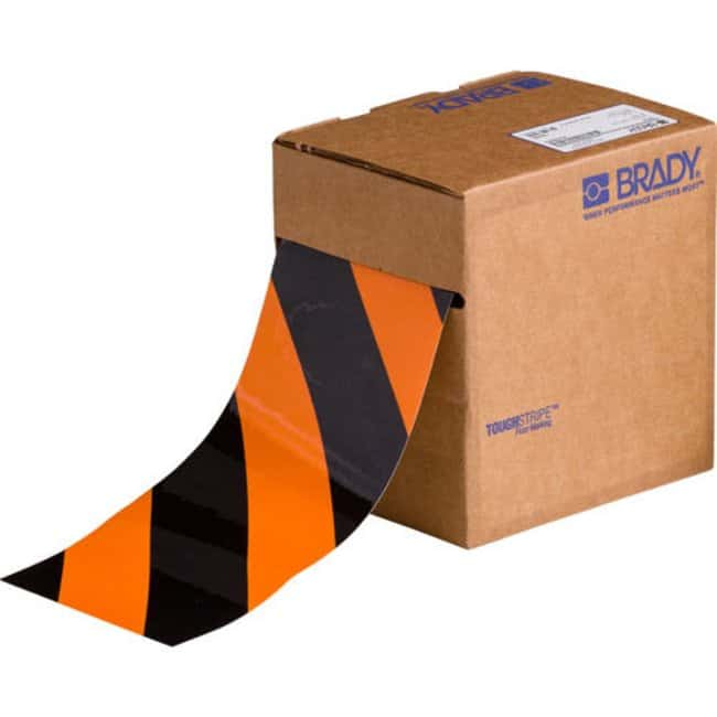 Brady ToughStripe Floor Marking Tape Roll - Laminated Polyester, Diagonal