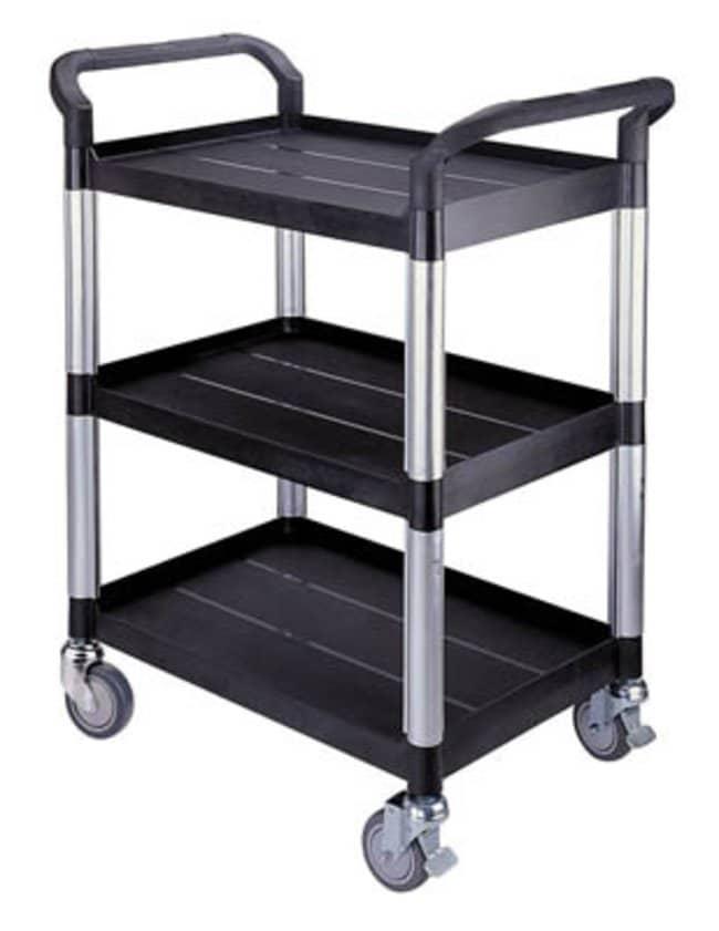 EduLab™Three Shelf Laboratory Trolley Load Bearing Capacity: 250kg Allgemeine Rollwagen und Karren