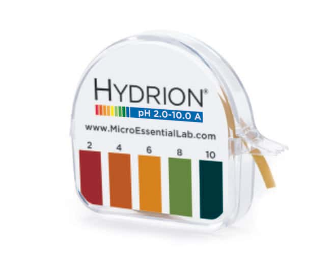 Micro Essential LabHydrion pH Test Paper pH range: 2.0-10.0:pH and Electrochemistry