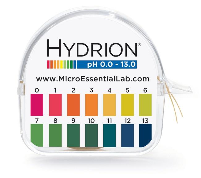 Micro Essential LabMikro Hydrion pH Test Paper Total pH range: 0.0-13.0:pH