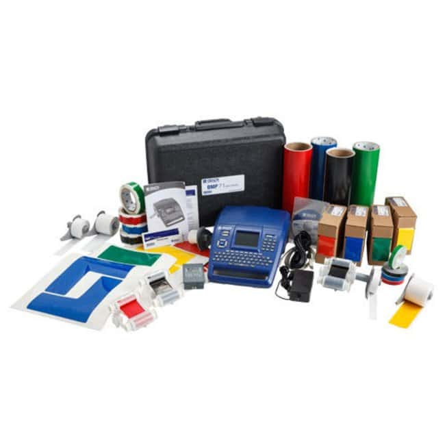 Brady ToughStripe Premium 5S Marking Kit with BMP71 Label Printer Premium