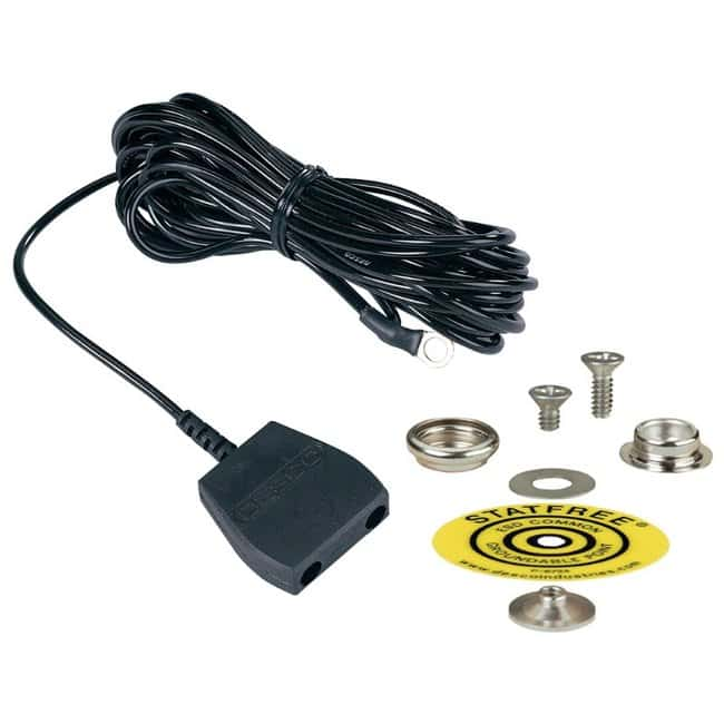 DescoCommon Point Ground Cord Kit for Workmat Length: 15 ft.:Facility Safety