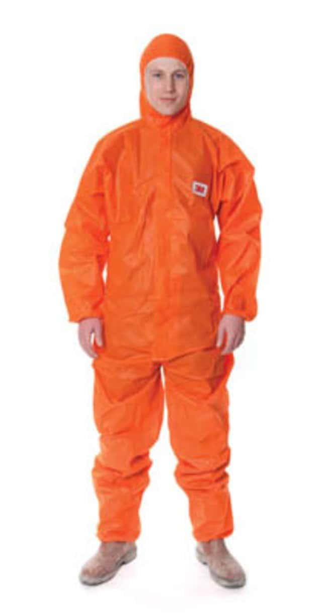 3M™ Orange Disposable Protective Coveralls, 4515 Series Size: Small 3M™ Orange Disposable Protective Coveralls, 4515 Series