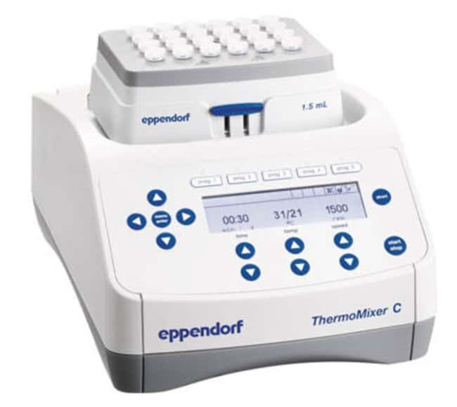 eppendorf thermomixer c speed 300 to 3000rpm mixing stroke diameter 3mm eppendorf thermomixer c. Black Bedroom Furniture Sets. Home Design Ideas