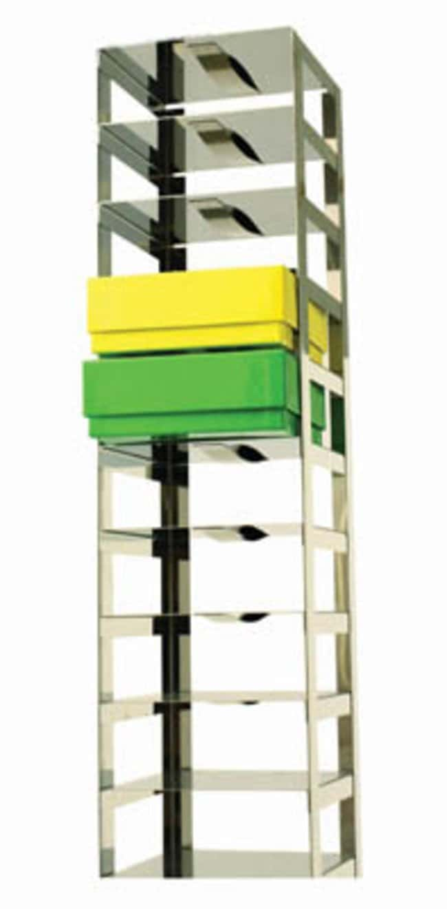 Tenak™Comfort Rack for Chest Freezers, 75 mm Box Height, with Boxes Holds: 7 Boxes Tenak™Comfort Rack for Chest Freezers, 75 mm Box Height, with Boxes