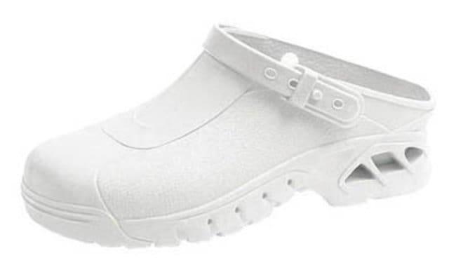 ABEBA™Arbeitsschuhe, Weiß Size: 37/38 ABEBA™Arbeitsschuhe, Weiß