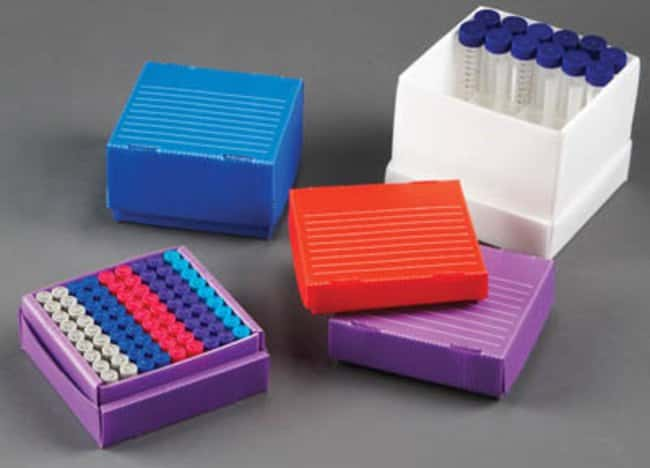Fisherbrand™Flatpack Freezer Boxes: Boxes Racks, Boxes, Labeling and Tape