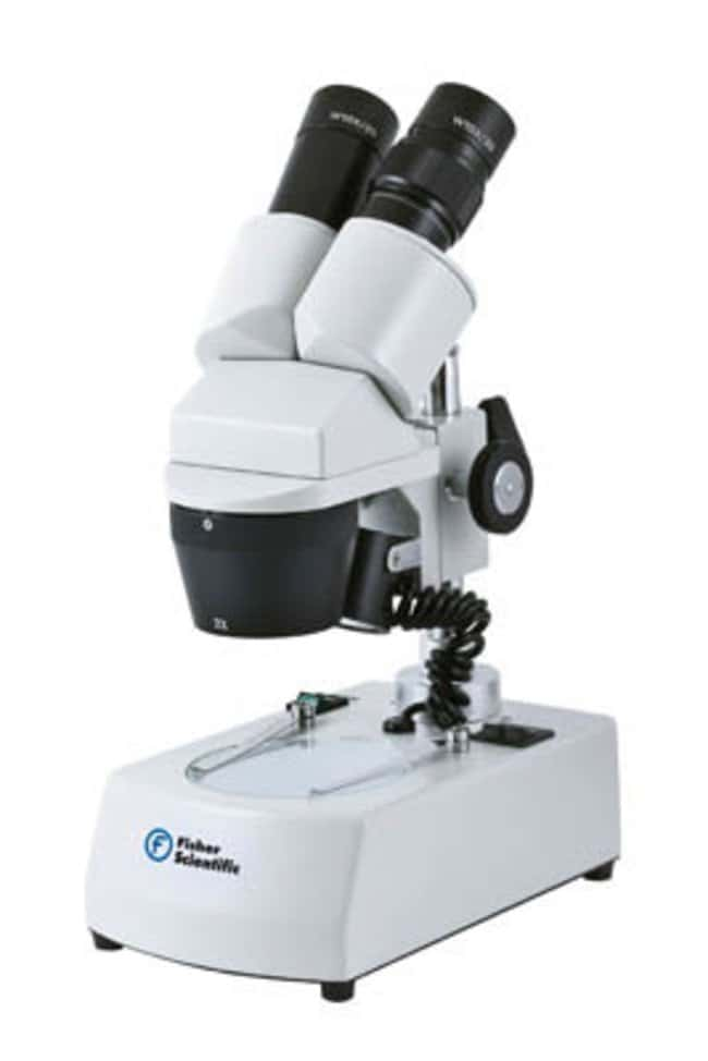 Fisherbrand™ ST-30C Series Rear-facing Stereo Microscope Model: ST-30C-6LED; Lighting: LED; Charger 100-240V or rechargeable batteries (LED version 15254878) Products