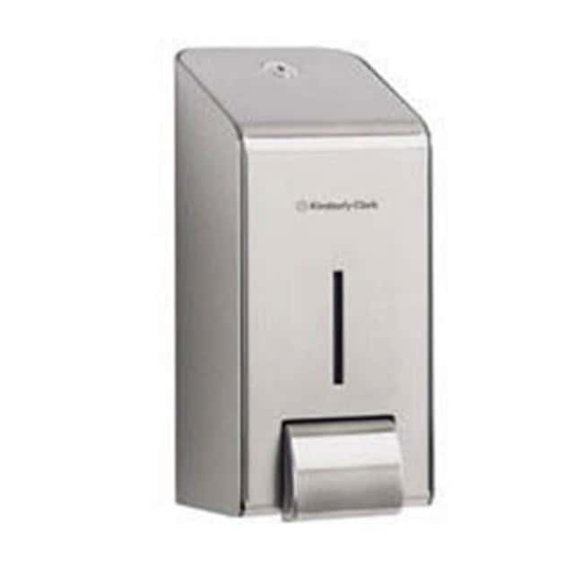 Kimberly-Clark™Stainless Steel Hand Cleanser Dispenser Cassette Dimensions: 23.1 x 10.7 x 11.5 cm (L x W x H) Soap and Sanitiser Dispensers