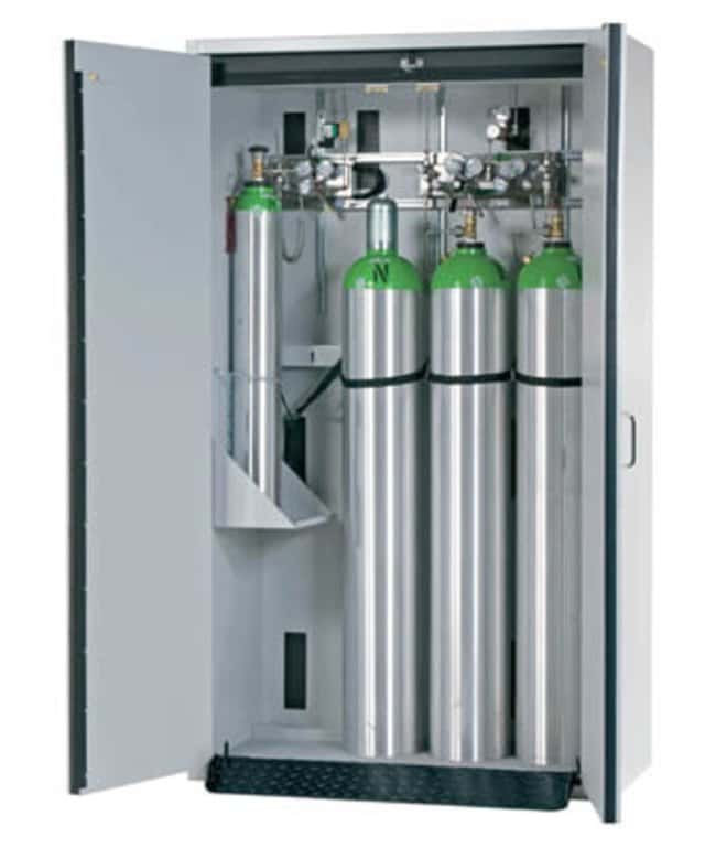 asecos™Type 30 Gas Cylinder Cabinet G-CLASSIC-30 Capacity: 4 x 50 litre gas cylinders, Door Style: Winged Products