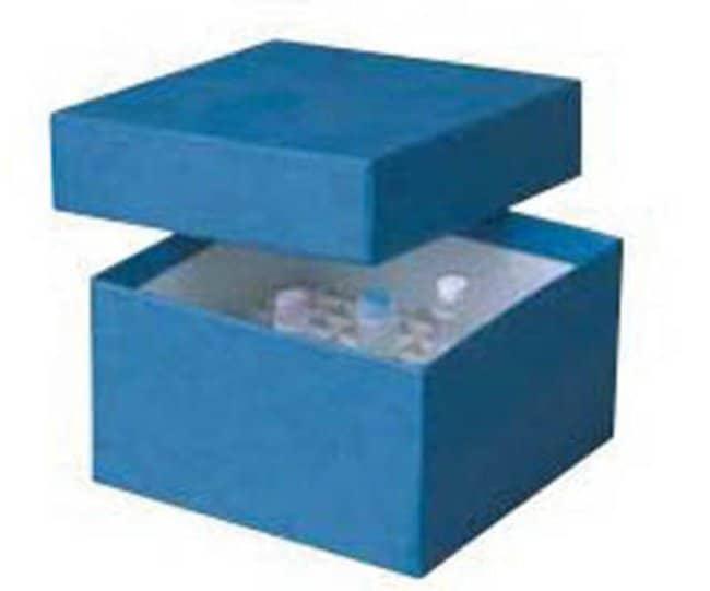 Ratiolab™Kryoboxen aus Karton mit wasserdichter Kunststoffbeschichtung: Boxes Gestelle, Boxen, Etiketten und Klebeband