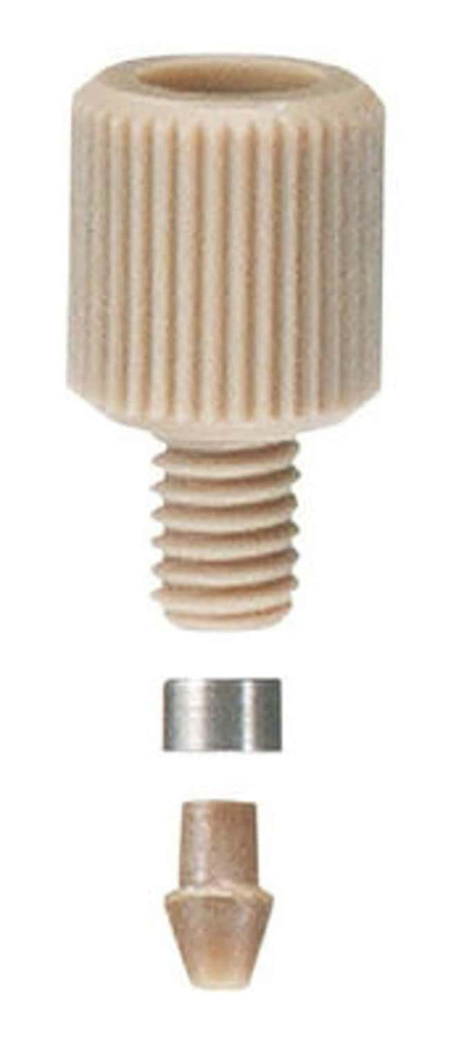 Idex LiteTouch Nut, PEEK, 1/16 in. OD Tubing, 10-32 Coned Nut Litetouch;