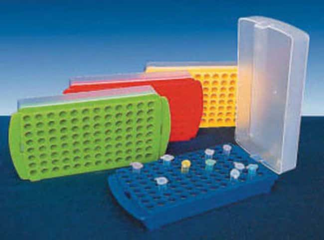 Fisherbrand™Polypropylene 2 in 1 Micro-centrifuge Tube Rack: Racks Racks, Boxes, Labeling and Tape