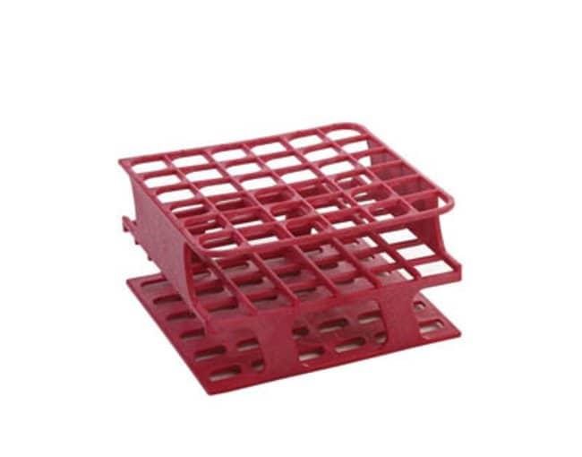 Fisherbrand™Delrin™ Half-Size Teströhrchengestelle, 36 x 13mm Color: Magenta, Dimensions (L x W x H): 104 x 104 x 59mm Fisherbrand™Delrin™ Half-Size Teströhrchengestelle, 36 x 13mm