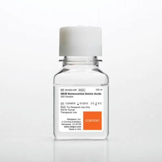 Corning™MEM Nonessential Amino Acid Solution MEM Nonessential Amino Acid Solution; 100mL Corning™MEM Nonessential Amino Acid Solution