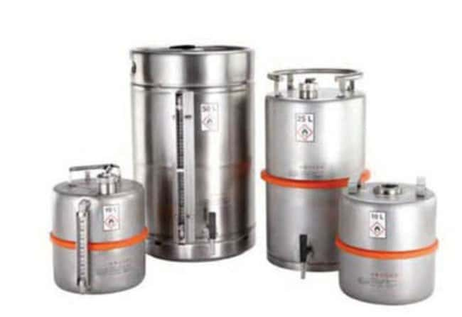 Buerkle™Stainless Steel Safety Container Capacity: 10L Metal Liquid Storage Cans