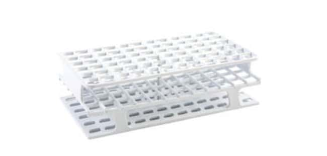 Fisherbrand™ Polypropylene Full-Size Test Tube Racks, 72 x 13mm Color: White, Dimensions (L x W x H): 104 x 202 x 59mm Fisherbrand™ Polypropylene Full-Size Test Tube Racks, 72 x 13mm