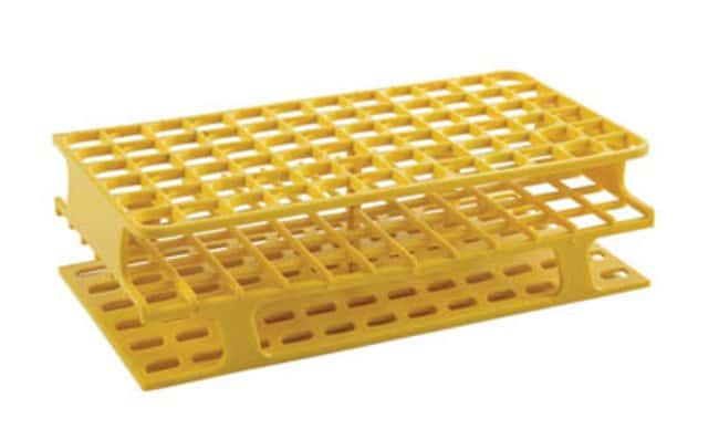 Fisherbrand™Delrin™ Full-Size Test Tube Racks, 72 x 13mm Dimensions (L x W x H): 104 x 202 x 59mm Fisherbrand™Delrin™ Full-Size Test Tube Racks, 72 x 13mm