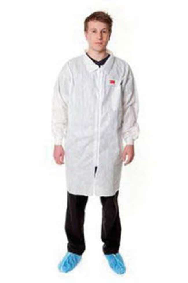 3M White Disposable Visitor Lab Coats, Series 4400:Gloves, Glasses and