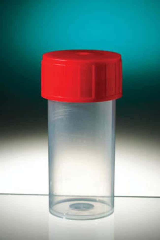 Gosselin™Polypropylene Straight Container with Screw Cap Sterile Specimen Containers