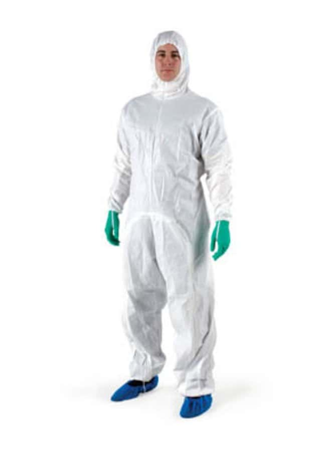Ansell BioClean-D Sterile Drop-Down Cleanroom Coveralls with Hood Size: