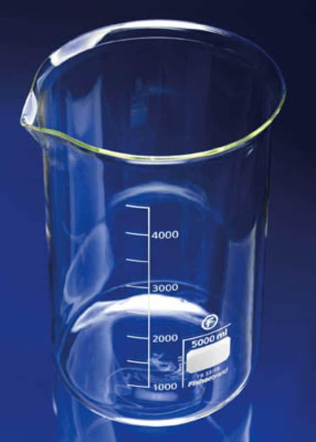 Fisherbrand™Squat Form Beakers Capacity: 5000mL Fisherbrand™Squat Form Beakers