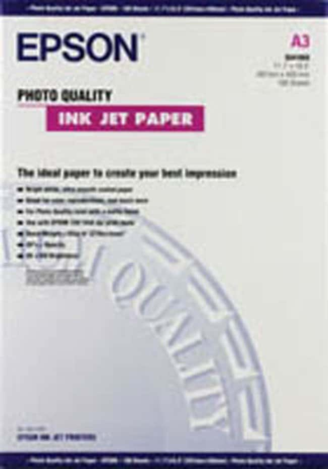 Epson™ Epson photo quality IJ paper, A3, pack of 100 General Purpose