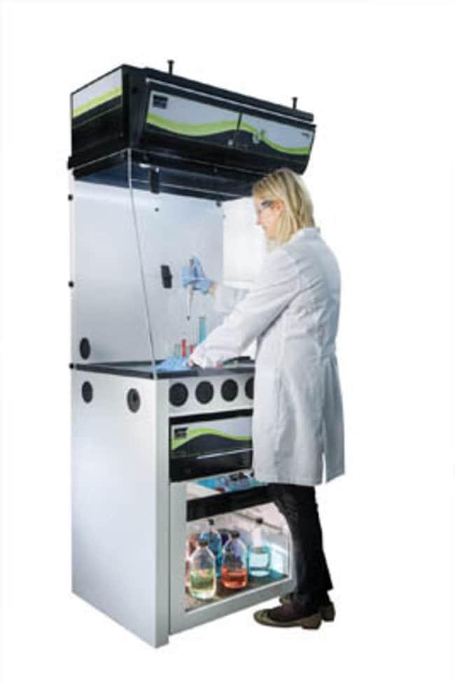 Erlab™Captair™ Smart 321 Ductless Filtering Fume Hood For organic vapors; D x W x H: 80 x 100 x 111cm Erlab™Captair™ Smart 321 Ductless Filtering Fume Hood