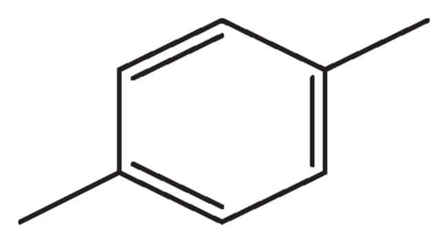 P Xylene Structure p-Xylene, 99%, pure, A...