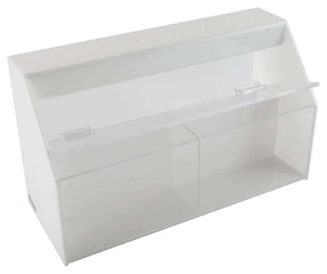 Fisherbrand Pipetter Stand Workstation Two bins; 6.6L x 16.37W x 9 in.