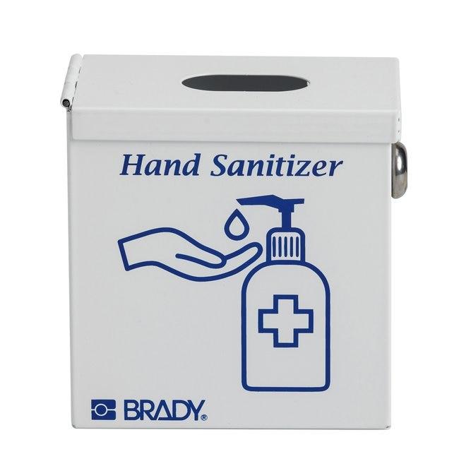 BradyHand Sanitizer Lock Box White:Personal Hygiene Products