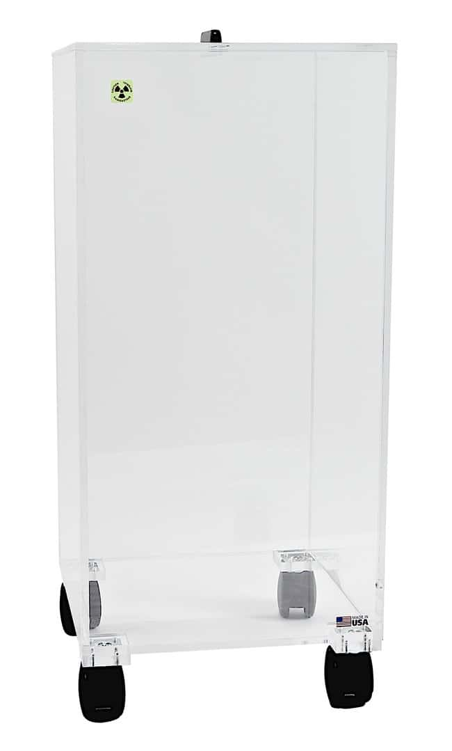 FisherbrandBeta Waste Boxes Mobile with 4 casters:Gloves, Glasses and Safety