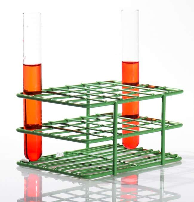 Bel-Art SP Scienceware Poxygrid Half-Size Test-Tube Racks  Green; 12.5