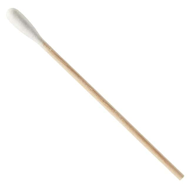 Fisherbrand Wood Handled Cotton Swabs and Applicators Length: 3 in.; Non-sterile;