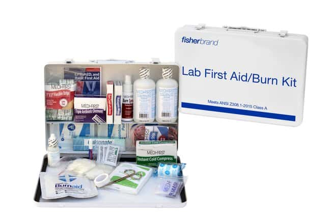 Fisherbrand™ 50 Person Class A First Aid/Burn Kit <img src=