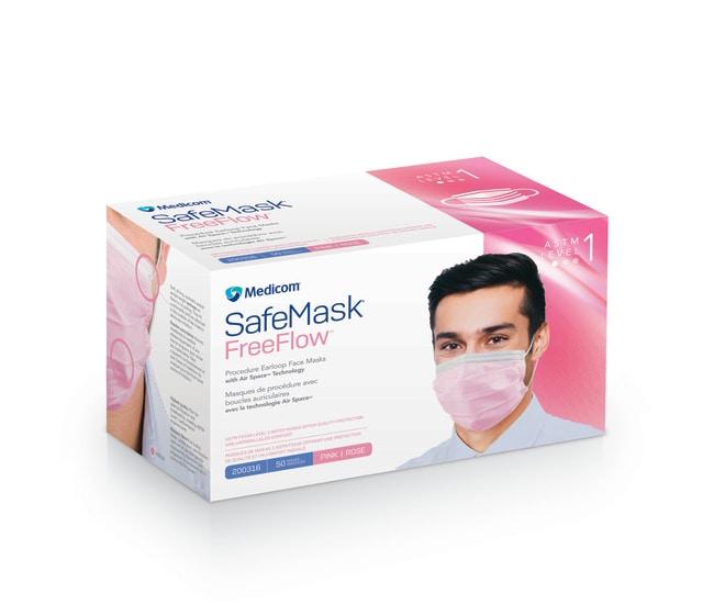 MedicomSafeMask FreeFlow Earloop Mask, Level 1:Personal Protective Equipment:Respiratory