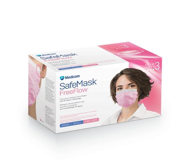 MedicomSafeMask FreeFlow Earloop Mask, Level 3:Personal Protective Equipment:Respiratory