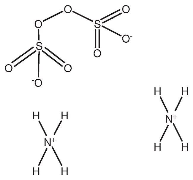 Ammonium Persulfate, 98%, Extra Pure, ACROS Organics 100g