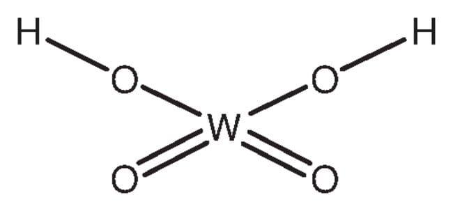 Tungstic acid, 99+%, ACROS Organics