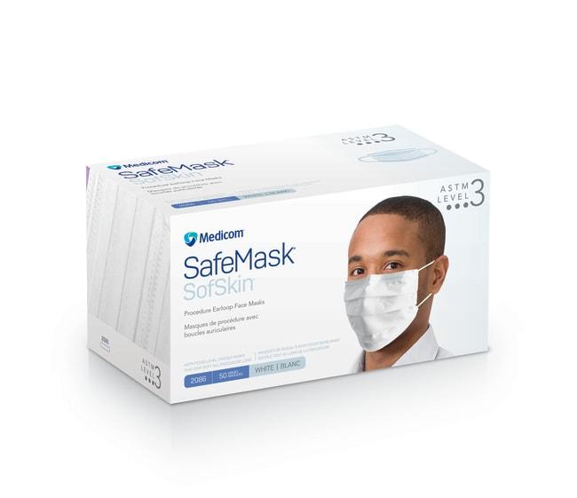 Medicom™SafeMask™ SofSkin™ Level 3 Earloop Mask