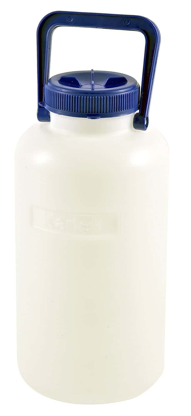 Dynalon Heavy Walled HDPE Carboys with Neck Insert 5L capacity; Bottle